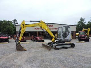 2008 Wacker Neuson 8003 Excavator - Bobcat - Enclosed Cab With Heat And A/c photo
