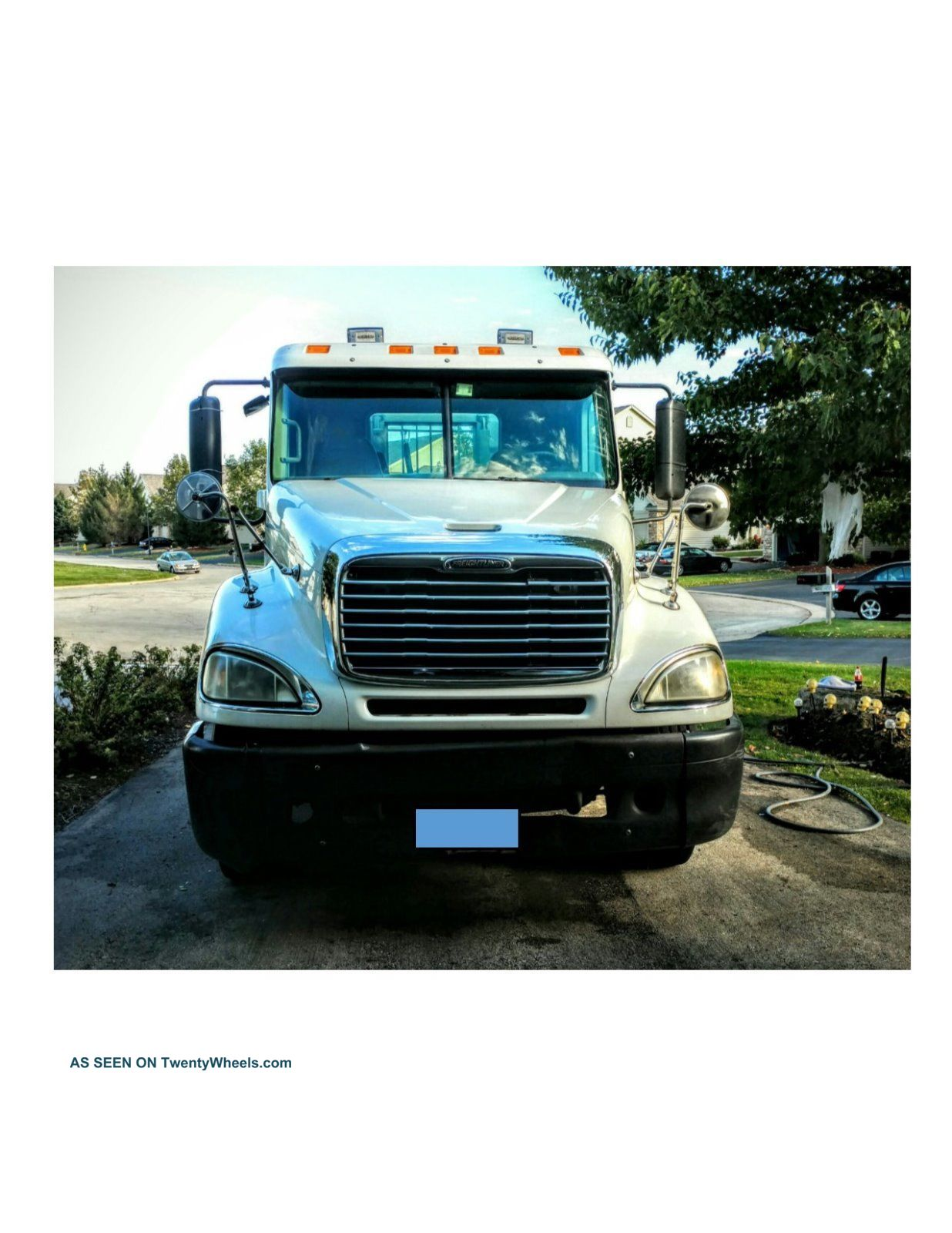 2005 Freightliner Columbia Day Cab Sleeper Semi Trucks photo