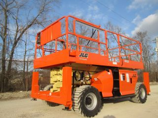 2008 Jlg 3394rt 4wd Rough Terrain Scissor Lift Manlift Boom Aerial Lift Jlg photo