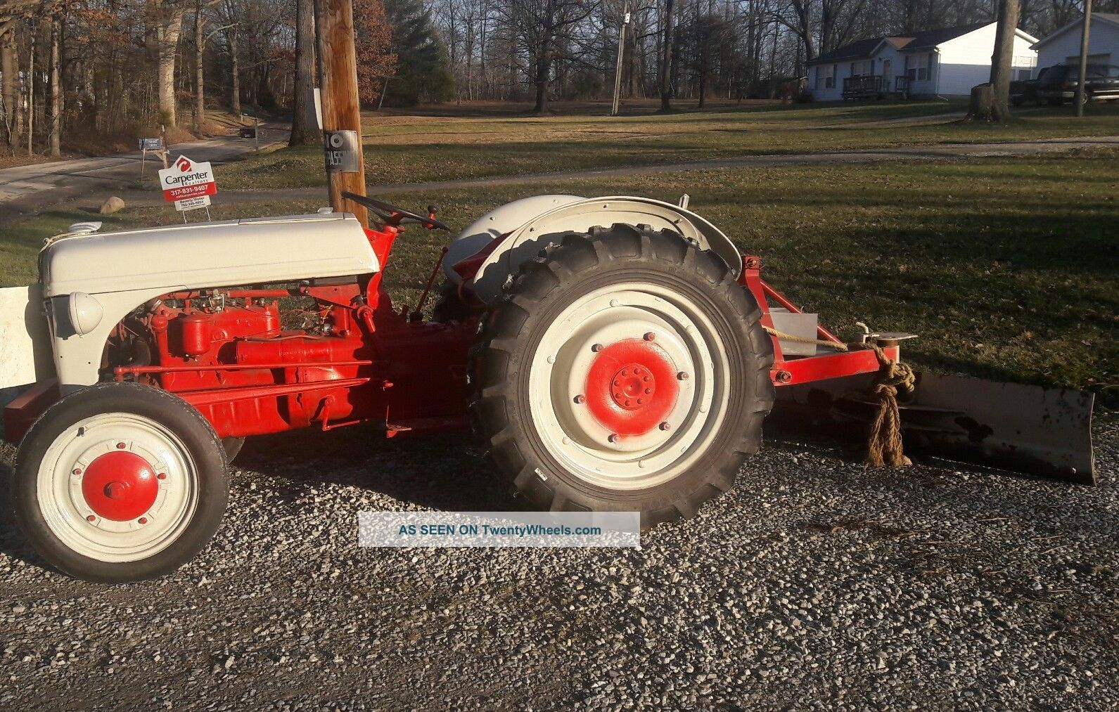 Ford 9n Mower : Ford n tractor