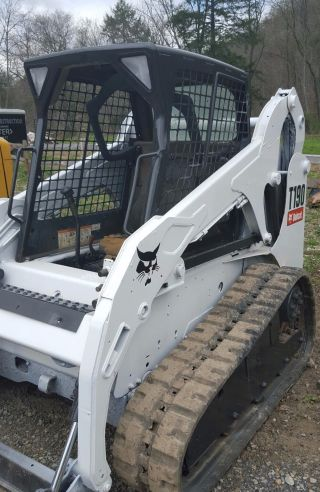 2007 Bobcat T190 Skidsteer Track,  We Ship And Finance Reduced photo