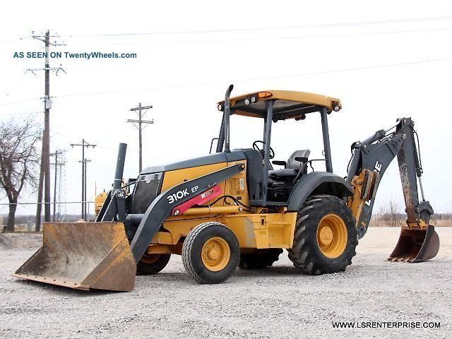 2012 John Deere 310k Ep Backhoe - Loader Backhoe - Backhoe - Loader - Deere - 25 Pic Backhoe Loaders photo