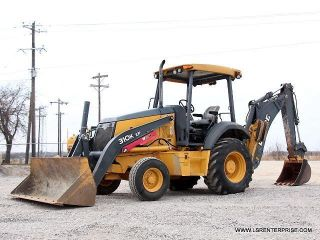 2012 John Deere 310k Ep Backhoe - Loader Backhoe - Backhoe - Loader - Deere - 25 Pic photo