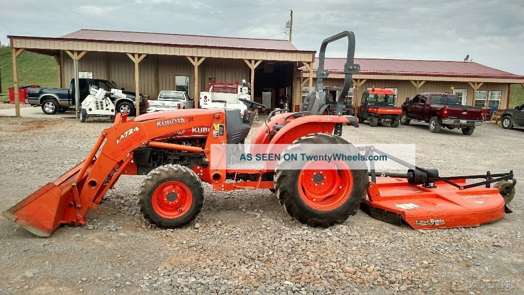 2012 Kubota L3240d Open Cab Tractor W/loader And Brush Hog Only 595 Hrs See more 2012 Kubota L3240D Open CAB Tractor W/loader a... photo