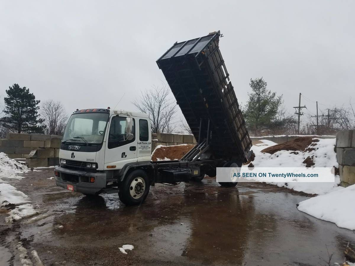 2001 2001 Isuzu/gmc Dump Trucks photo