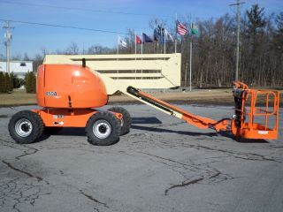 2007 Jlg 450a Sii Articulating Boom Lift Manlift Z - Boom Aerial Knuckle Boomlift photo
