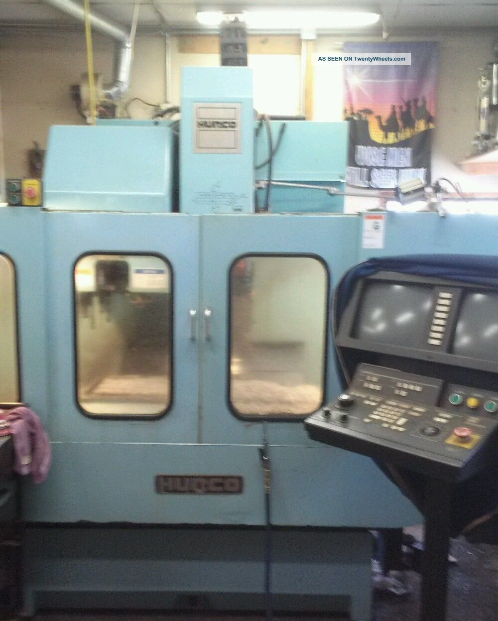 Hurco Vertical Milling Machining Center Bmc - 20 Sn Bj - 9002050 - A Milling Machines photo