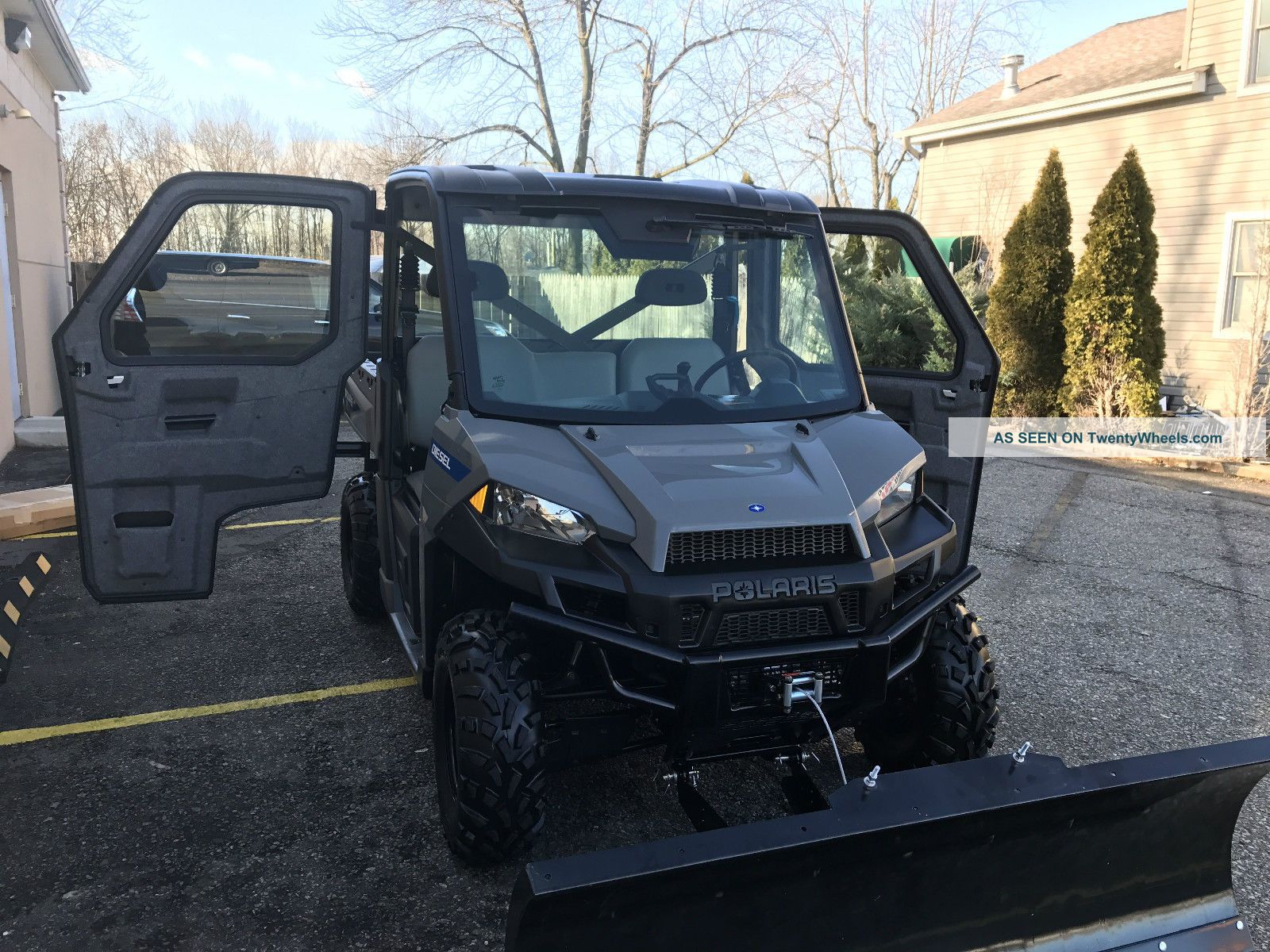 Polaris Brutus Hd Diesel 4x4, Hydrostatic Trans  , Ac/full