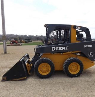 2011 John Deere 320d Skid Steer Euc photo