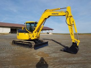 2006 Komatsu Pc78mr - 6 Midi Hydraulic Excavator Tracked Hoe Plumbed Blade 2 Speed photo