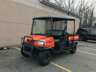 ;;;;;kubota Cpx1140 4x4 Diesel,  Roof,  Winds,  Heater,  Hydrostatic,  Hydraulic,  Dump Bed photo
