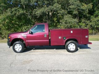 2008 Ford F250 Hd Diesel 4x4 Utility Service Just 39k Miles 6.  4 Diesel Four Wheel Drive photo