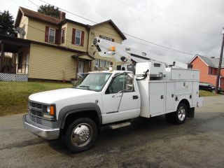 2002 Chevrolet C - 3500hd Service Bucket Telsta Boom Truck photo