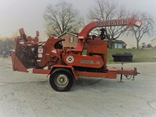 Morbark 15 Tornado Wood Chipper Brush Drum Chipper Disk Mulcher Jd 140 Hp photo