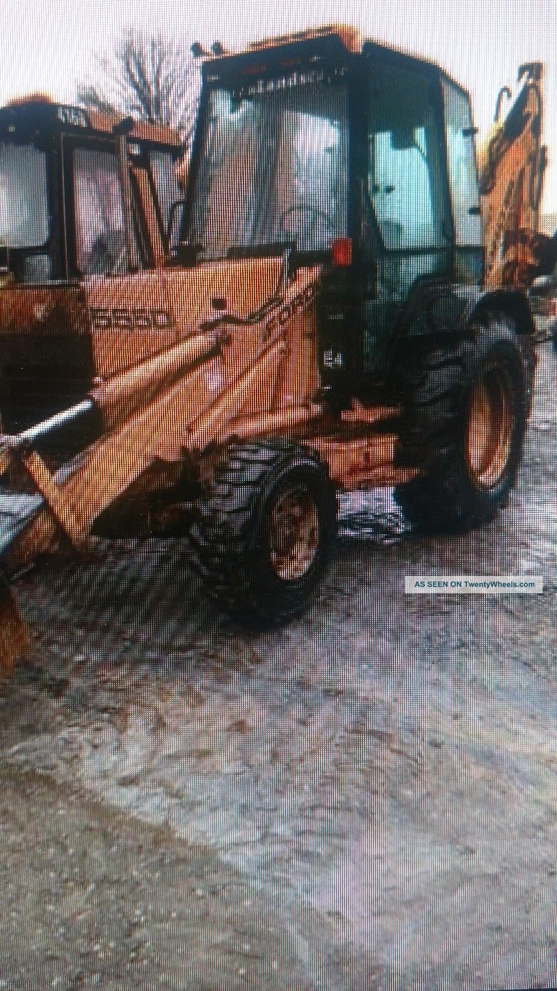 1996 Ford 555d Backhoe Backhoe Loaders photo