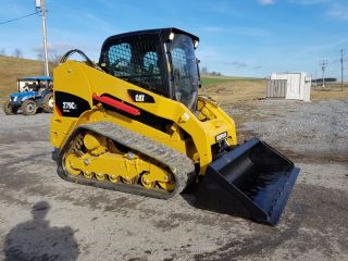 2012 Caterpillar 279c2 Compact Track Skid Steer Loader 2 Speed Hydraulic Coupler photo