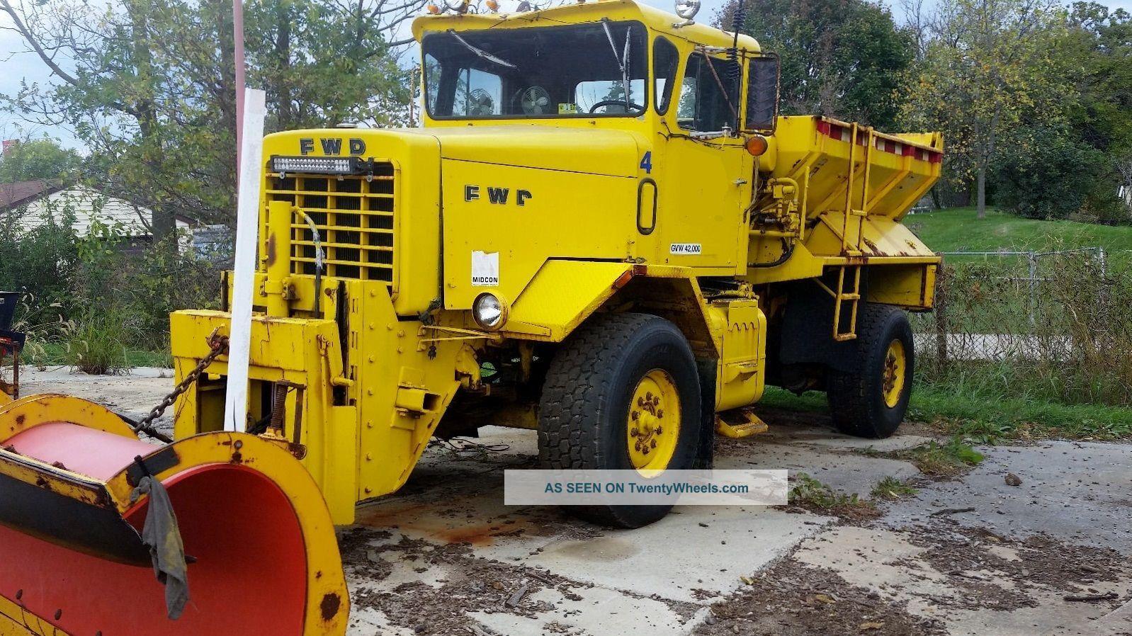 1988 Oshkosh Fwd Other Heavy Duty Trucks photo