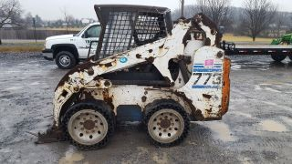 2001 Bobcat 773 Skid Steer Loader. photo
