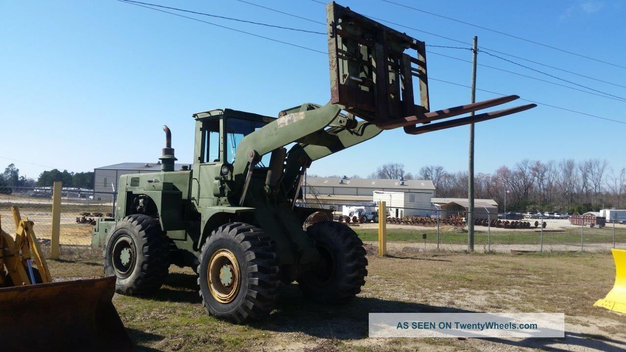Hough International M10a Loader W/ Forks - - Finance Available. . . Wheel Loaders photo