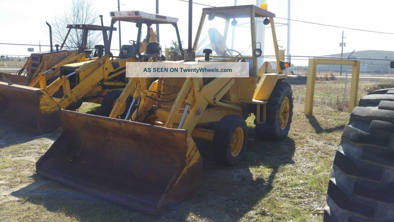 Case 480f 2wd Industrial Loader W/open Cab - - Finance Available. . . Wheel Loaders photo