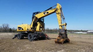 Caterpillar M316d Wheeled Excavator - Finance Available. . . photo
