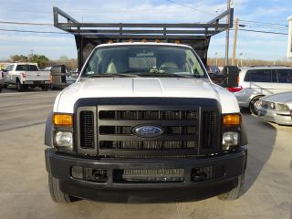 2008 Ford Xlt Single Cab Custom Flat Bed 16 Foot photo