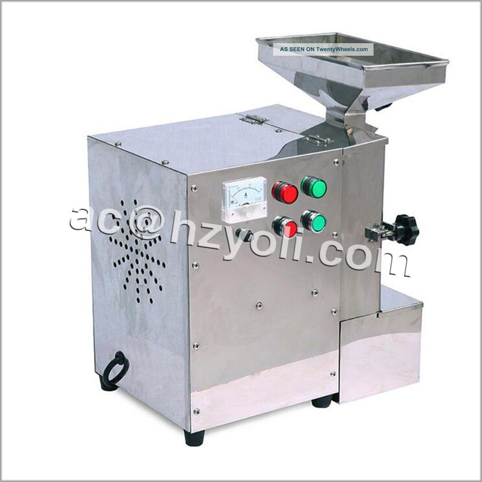Commercial Almond Milling Machine Oily Feed Grinder For Walnuts/peanuts/sesame Milling Machines photo