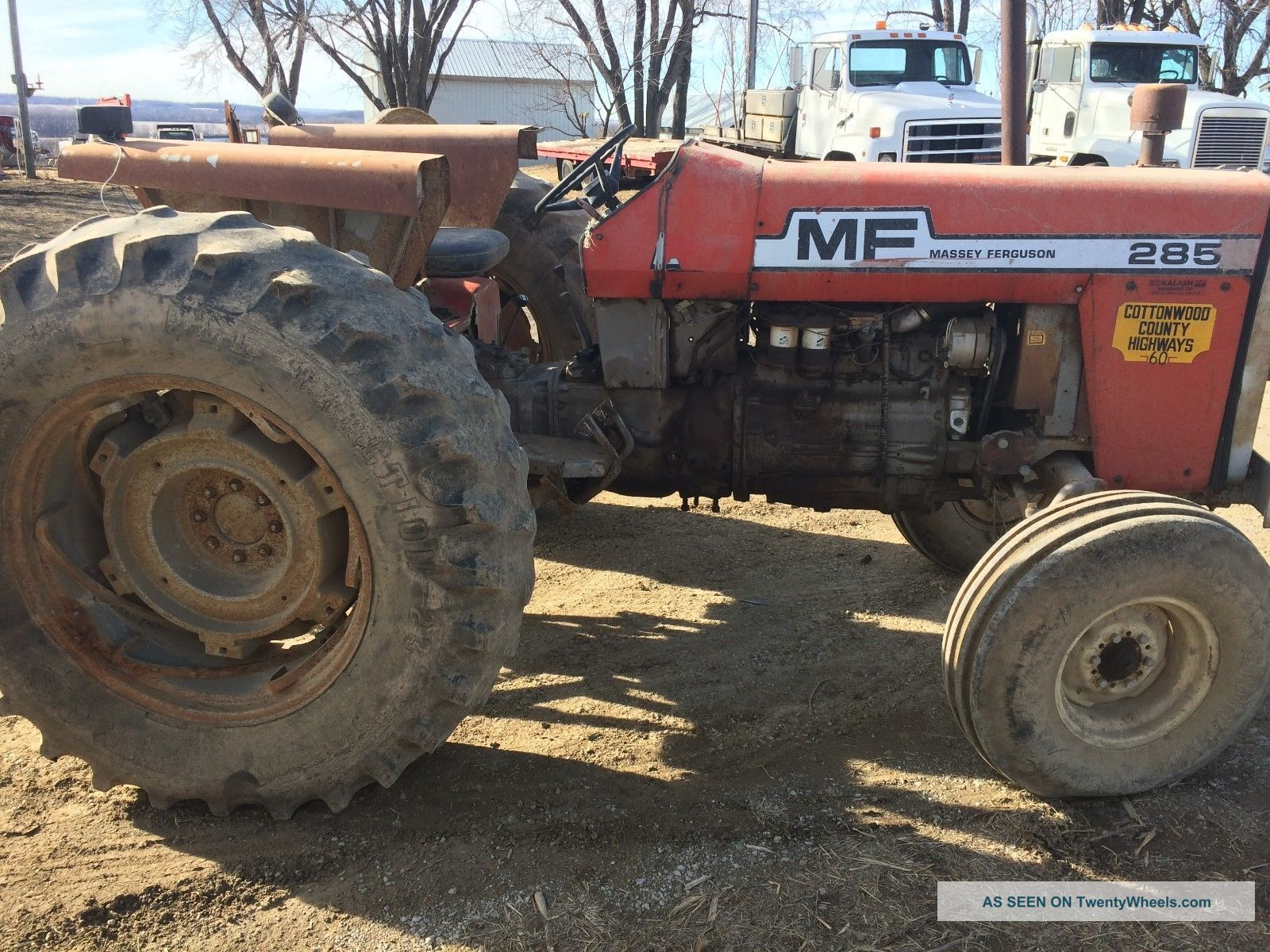 Massey Ferguson Tractor Troubleshooting : Massey ferguson repair or parts