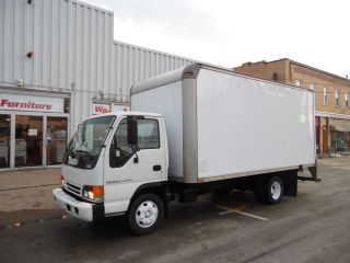 2004 Isuzu Npr Turbo Diesel Delivery Van 16 Foot Box Truck photo