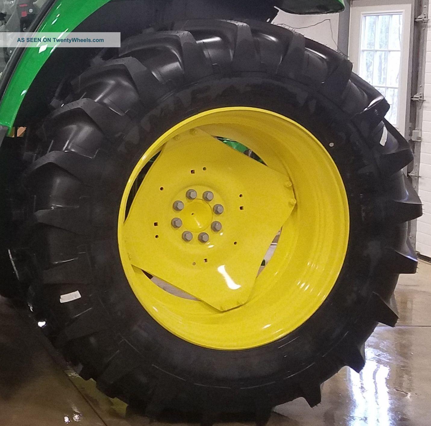 John Deere Tractor Rear Rims For 2010 : Michelin agribib r  tires front rear
