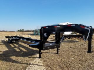 2017 41 ' Gooseneck Container Chassis photo
