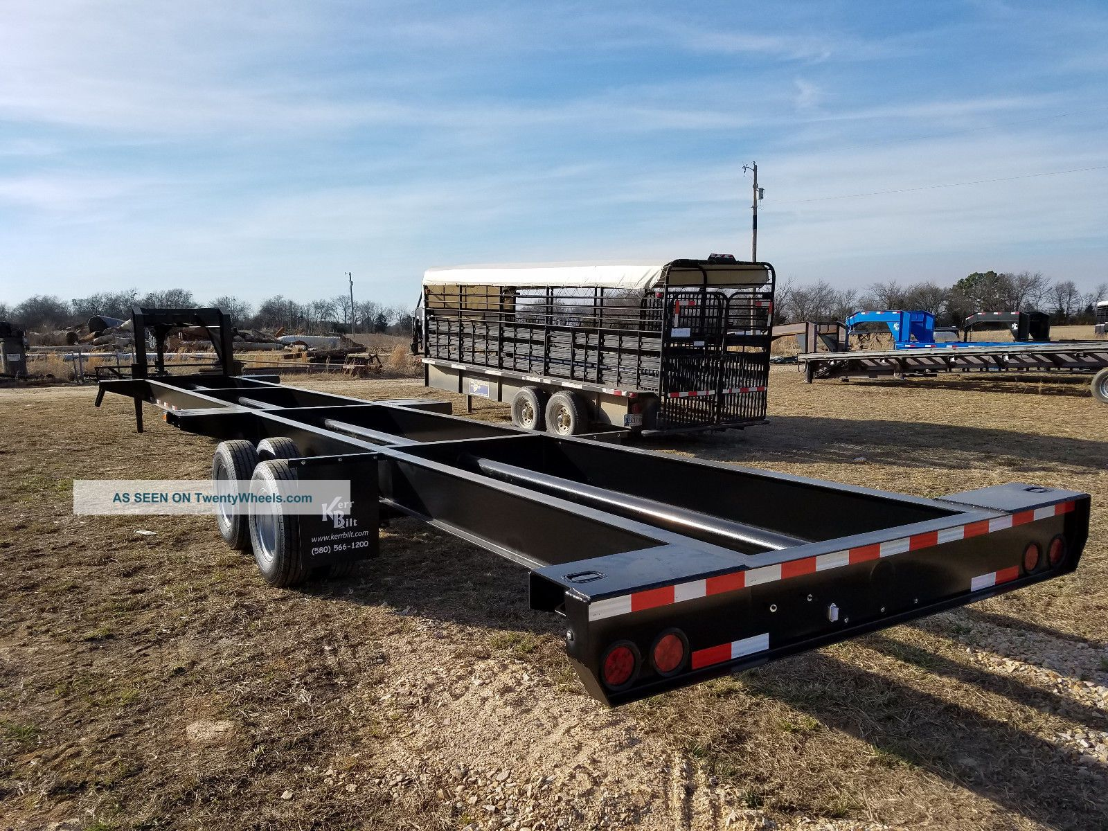 Container Chassis Lights : Gooseneck container chassis