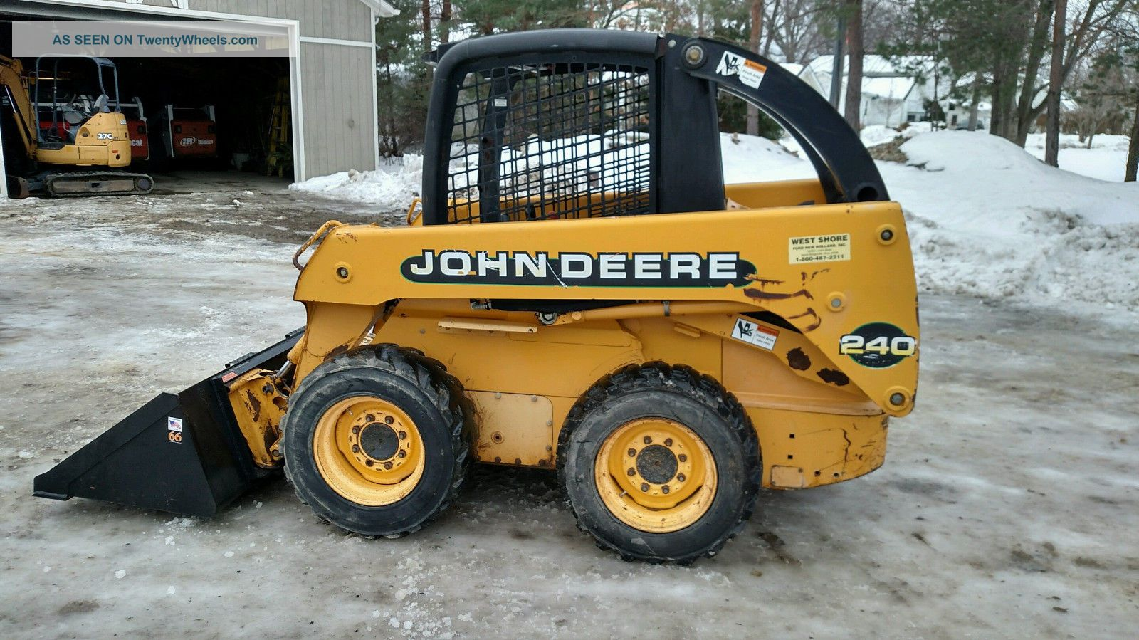 1999 John Deere 240 Skid Steer Loader Skid Steer Loaders photo
