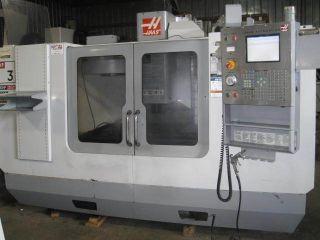 Haas 2005 Vf - 3 Vmc 40 X 20,  20hp,  Chip Auger,  Cool Thru,  16 Mb,  Reduced photo