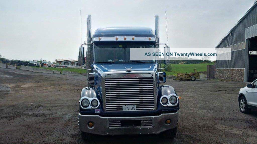 2007 Freightliner Coronado Cc132 Sleeper Semi Trucks photo