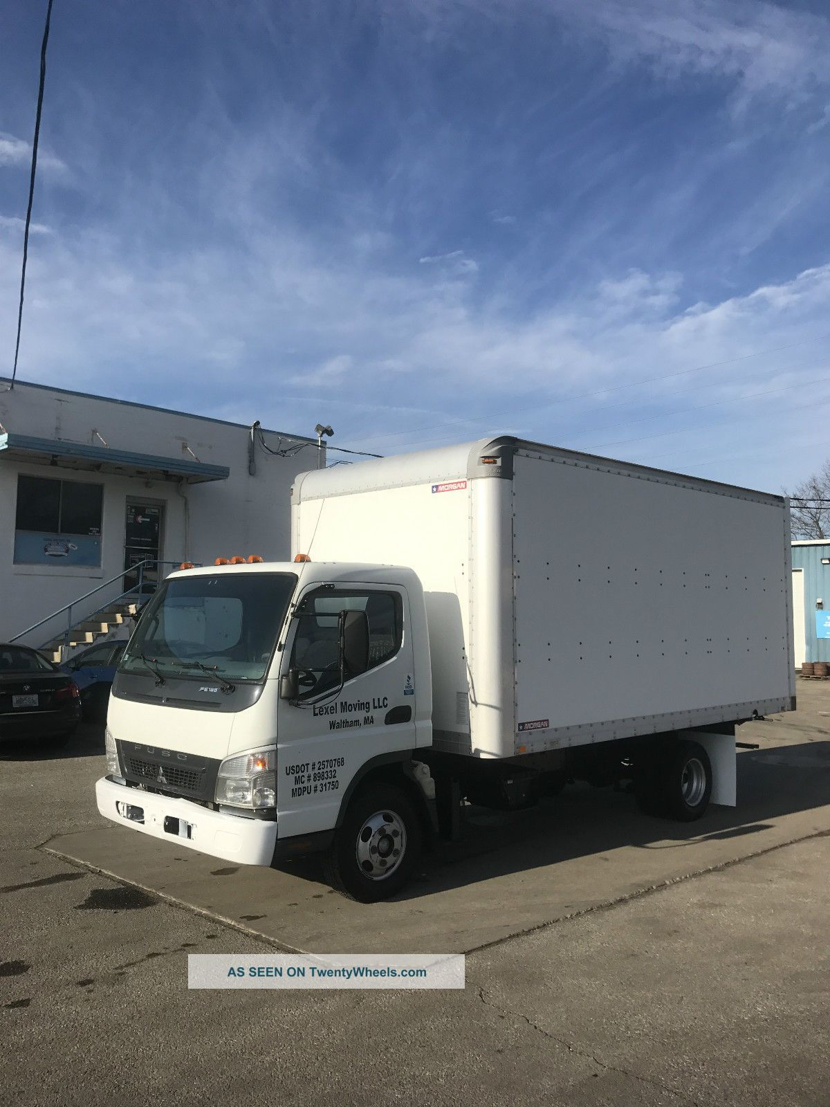 2008 Mitsubishi Fuso Fe 125 Box Trucks & Cube Vans photo
