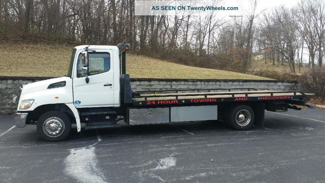2012 Hino Flatbeds & Rollbacks photo