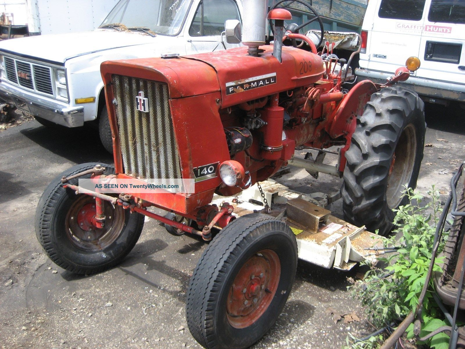 Farmall 140 Tractor : International farmall tractor