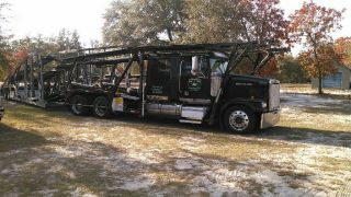 2007 Western Star & Cottrell 4900 Lowmax,  3 Car Rack And 7510 Cottrell Trailer photo