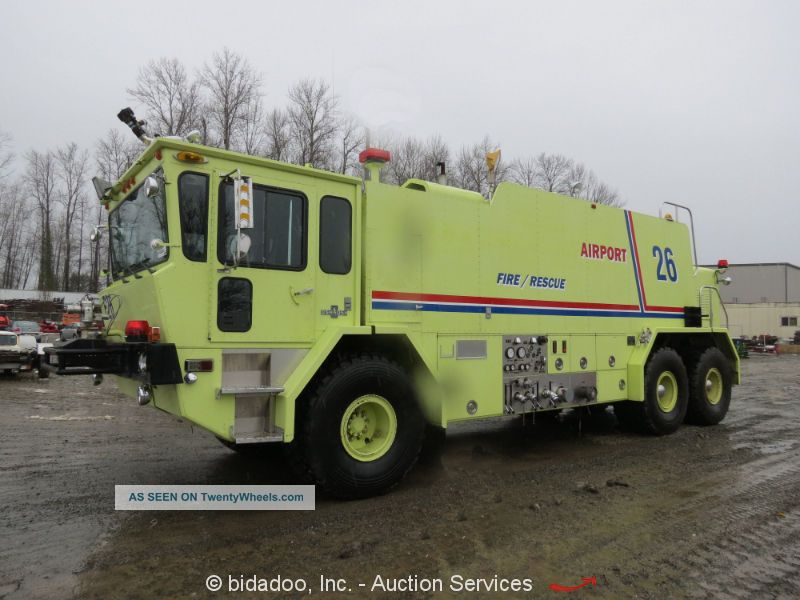 1988 Oshkosh T - 3000 Emergency & Fire Trucks photo