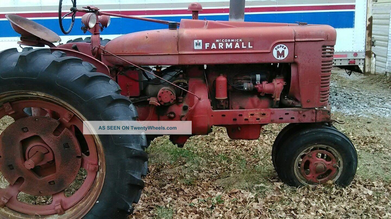 Farmall M Specifications : Farmall m