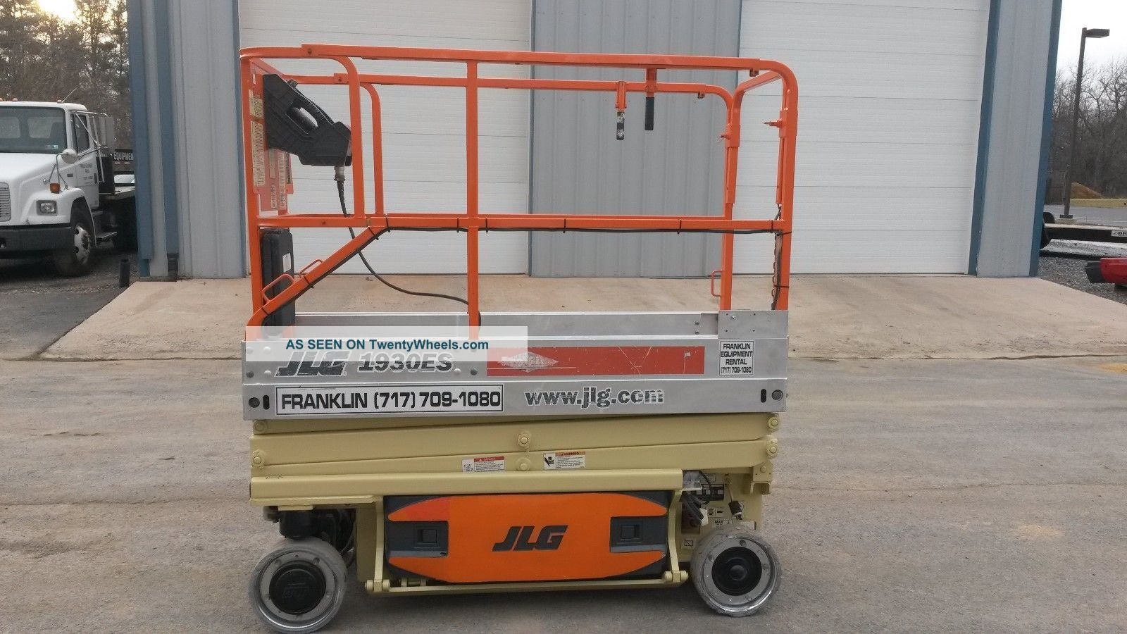 2005 Jlg 1930es Scissor Lift Manlift Boomlift Aerial Lift Platform Lift Jlg Scissor & Boom Lifts photo