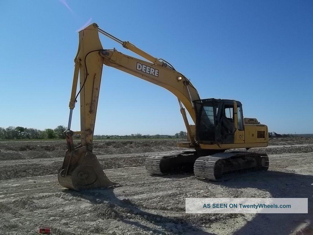 John Deere 200c Lc Crawler Excavator; Auxiliary Hydraulics; 9005 Hrs Excavators photo