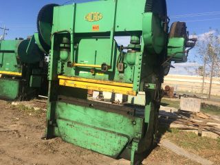 Chicago D&k Mechanical Press Brake 90/135 Ton,  Model 406 - D photo
