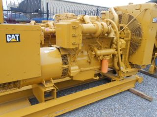 Caterpillar Cat D3406b Dita Sr4 320kw Generator Set Generators photo
