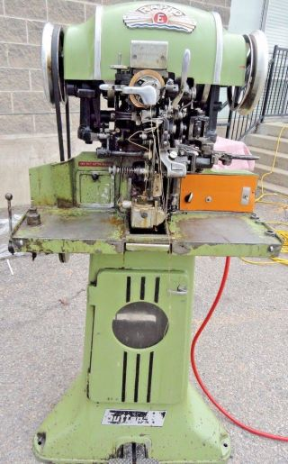 Sutton Rapid E 317 Shoe Outsole Sewing Machine photo
