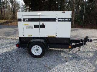 2015 Multiquip Dca25ssiu4f 25kv Generator,  Trailer Mounted photo