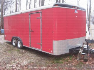 Pace Enclosed 8x20 Cargo/work Trailer photo