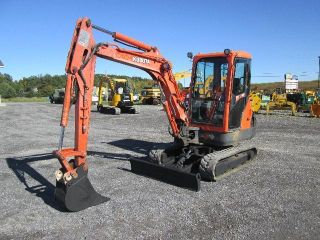 Kubota Kx91 - 3 Mini Excavator Farm Tractor Dozer photo