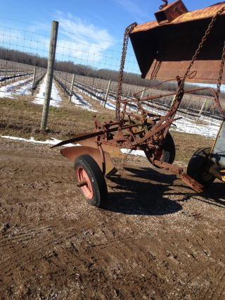 Oliver 2 Bottom Tow Plow photo